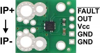 ACS711EX Current Sensor Carrier -31A to +31A