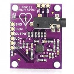 AD8232 Kalp Atış Hızı Sensörü - Thumbnail