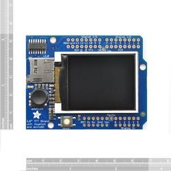 Adafruit 1.8 Inch Renkli TFT Shield mikroSD ve Joystick'li - Thumbnail
