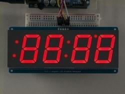4 Haneli 1.2 Inch 7-Segment I2C Ekran (Kırmızı) - Thumbnail