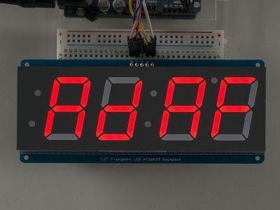 4 Haneli 1.2 Inch 7-Segment I2C Ekran (Kırmızı)