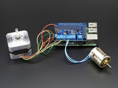 Adafruit DC/Step Motor Shield