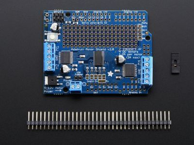 Arduino Servo/DC/Step Motor Shield