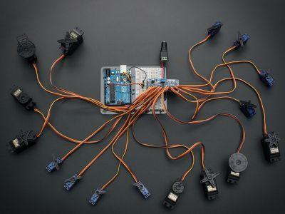Adafruit PCA9685 16 Channel I2C PWM/Servo Driver Board
