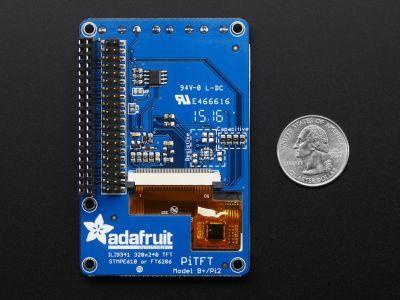 Adafruit PiTFT Plus 2.8 Inch 320x240 Dokunmatik TFT Ekran