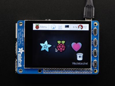 Adafruit PiTFT Plus 2.8