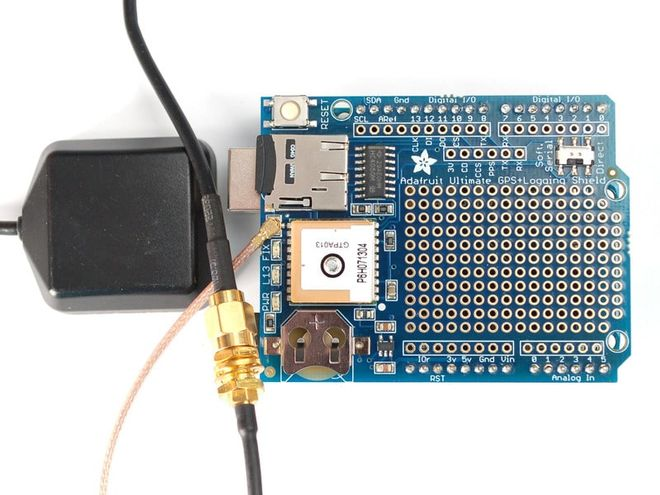 Adafruit Ultimate GPS Logger Shield