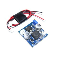 China - Adjustable 3A Step-Down Voltage Regulator w/ Cable Set - LM2596