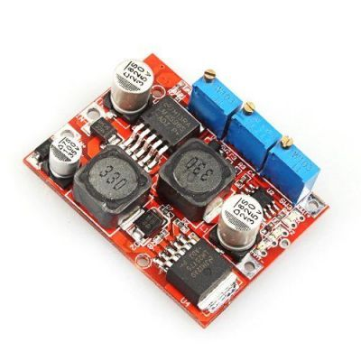 Adjustable Step-Up / Step-Down Voltage Regulator LM2577 + LM2596