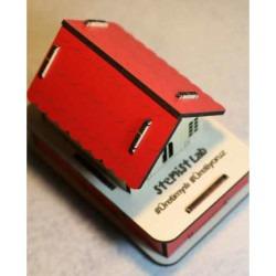 Stemist Box Ahşap RGB Ev - Thumbnail