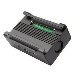 Aliminium Raspberry Pi B+/2/3 Case (Black) - Thumbnail