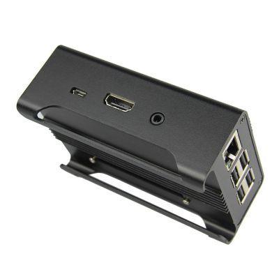 Aliminium Raspberry Pi B+/2/3 Case (Black)