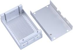 Robotistan - Aliminium Raspberry Pi B+/2/3 Case (Grey)