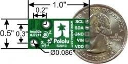 AltIMU-10 V5 Gyro, İvme Ölçer, Pusula ve Yükseklik Sensör Ünitesi - PL-2739 - Thumbnail
