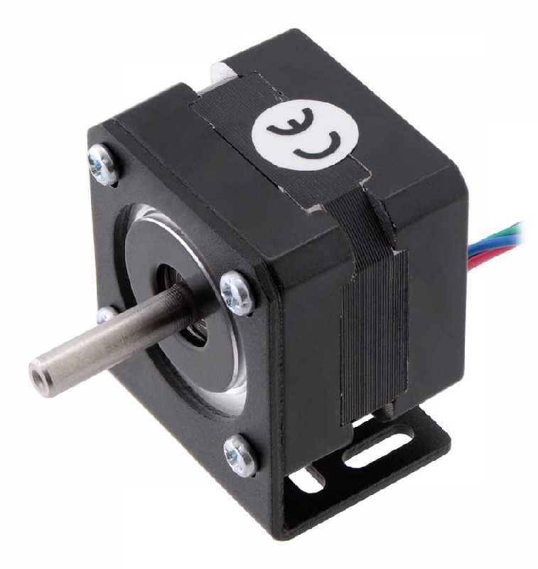 Buy aluminum l type nema 14 stepper motor bracket pl for Types of stepper motor