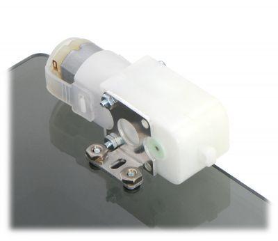 Aluminum L type Plastic Gearmotor Bracket (Pair)