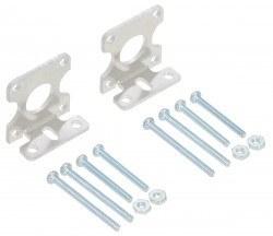 Pololu - Aluminum L type Plastic Gearmotor Bracket (Pair)