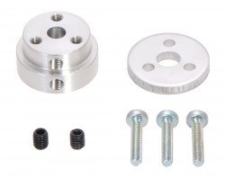 Pololu - Aluminum Scooter Wheel Adapter for 5mm Shaft - PL2673
