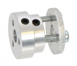 Aluminum Scooter Wheel Adapter for 6mm Shaft - PL2674 - Thumbnail