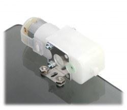 Aluminyum L tipi Plastik Redüktörlü Motor Tutucu (İkili) -PL2670 - Thumbnail