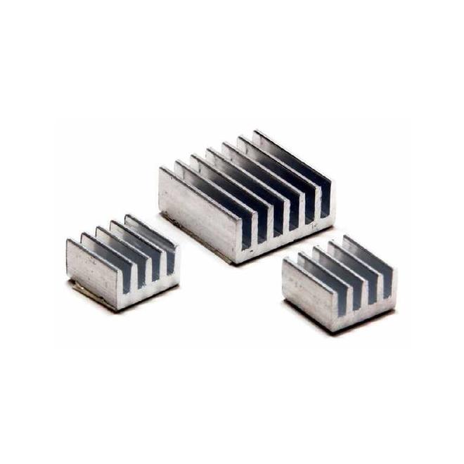 Aluminyum Soğutucu Seti (Heat Sink)