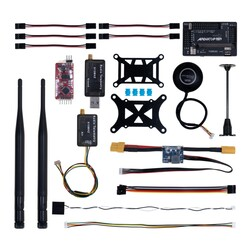 China - APM 2.8 Flight Controller M8N GPS Build-in Compass + Power Moudle + Mini OSD + 915Mhz 500mw Telemetry