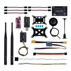 China - APM 2.8 Flight Controller M8N GPS Built-in Compass + Power Moudle + Mini OSD + 433Mhz 500mw Telemetry