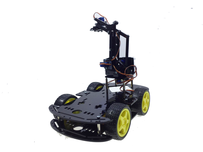 Arduino 4WD Robot Kollu Pro Platforma