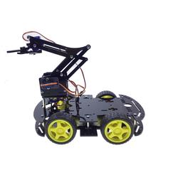 Arduino 4WD Robot Kollu Pro Platforma - Thumbnail