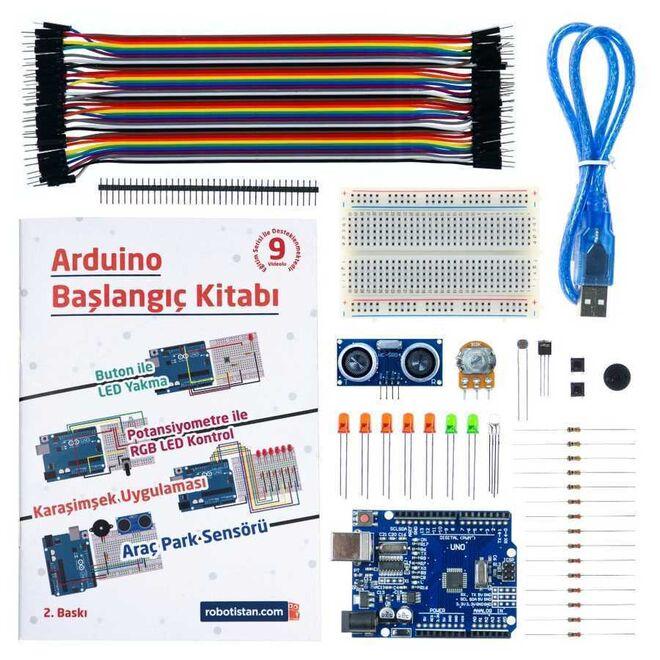 Arduino Başlangıç Seti (Klon) (Kitaplı ve Videolu)