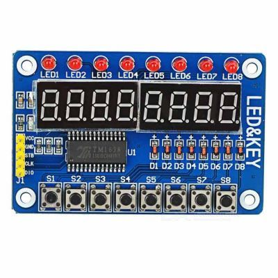 Arduino Compatible 7-Segment Display and Button Modul