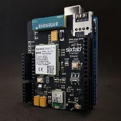 Arduino GPRS / GPS Takip - GSM Shield - Thumbnail