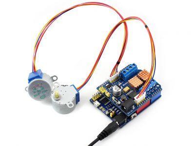 Arduino L293 DC/Step Motor Sürücü Shield'i