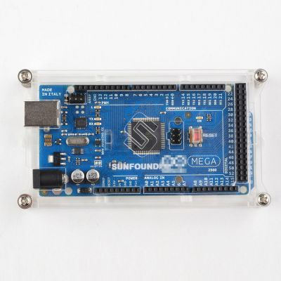 Arduino MEGA 2560 R3 Pleksi Kutu - Plexi Box for Arduino