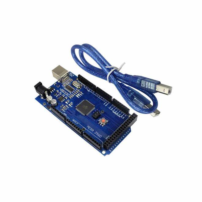 Arduino MEGA 2560 R3 Klon - USB Kablo Hediyeli - (USB Chip CH340)