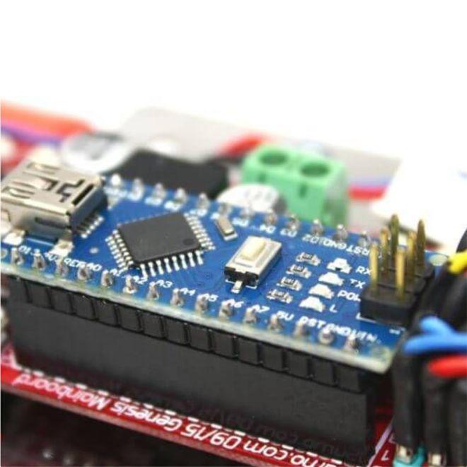 Arduino Mini Sumo Robot Kiti - Genesis (Demonte)