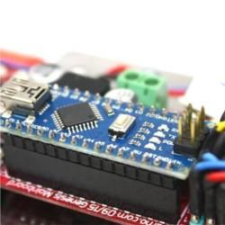 Arduino Mini Sumo Robot Kiti - Genesis (Montajlı) - Thumbnail