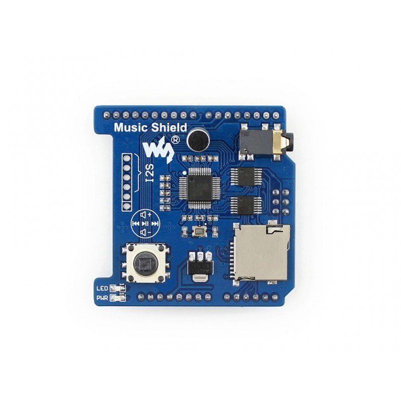 Buy Arduino Music Shield - VS1053B with cheap price