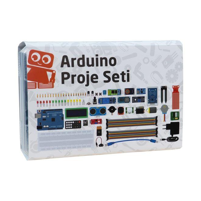 Arduino Proje Seti (Klon) (Kitaplı ve Videolu)