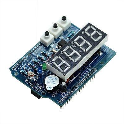 Arduino RTC'li Saat Shieldi - Clock Shield with RTC