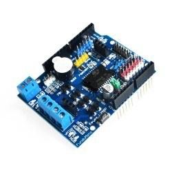 Arduino SMD L298 Çift Motor Sürücü Shield - Thumbnail