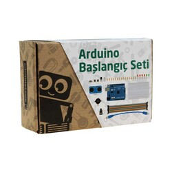 China - Arduino Starter Set (with Turkish booklet)