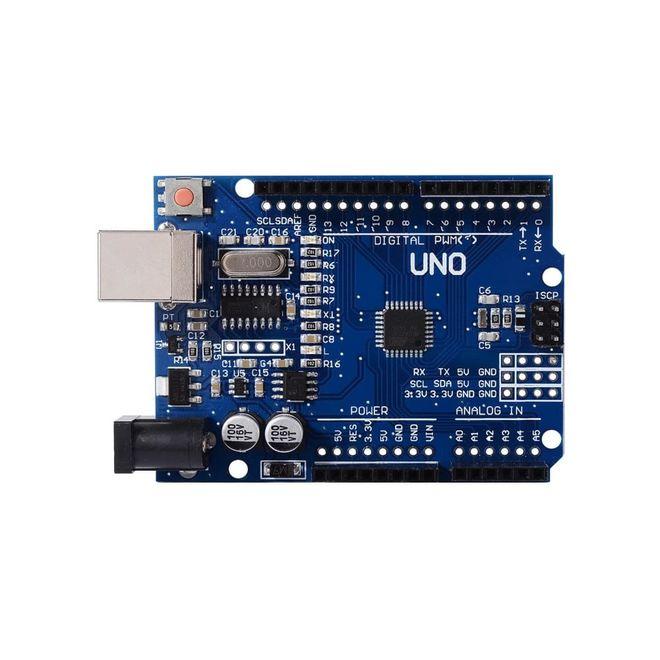 Arduino Süper Başlangıç Seti Uno Rev3 (Klon) (Kitaplı ve Videolu)