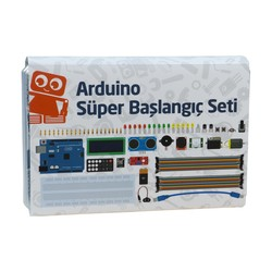 China - Arduino Super Starter Set Rev3 (with clone board and Turkish book)