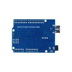 Arduino UNO R3 Clone - With USB Cable - (USB Chip CH340) - Thumbnail