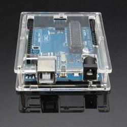 Arduino UNO R3 Pleksi Kutu - Plexi Box for Arduino - Thumbnail