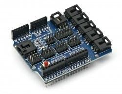 Arduino Uno Sensör Shield - Thumbnail