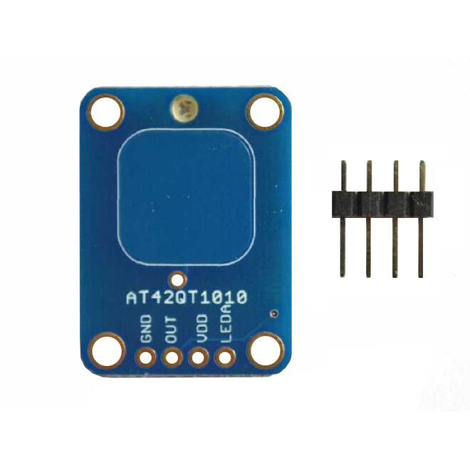 AT42QT1010 Capacitive Touch Sensor Board