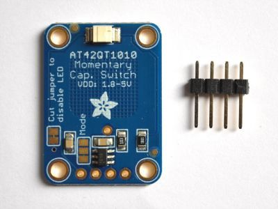 AT42QT1010 Capacitive Touch Sensor Board