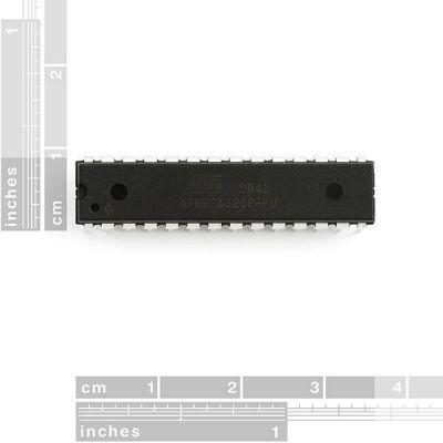 ATMega328P PU - AVR 28 Pin 20 MHz 32K 6A/D